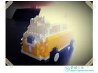 [玩具] 聖誕節就送這個!超可愛iPhone遙控積木車