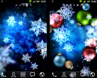 【Android App】手機飄雪迎聖誕