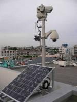 全日本第一台無線海嘯監視系統架在相模灣海邊