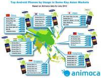 亞洲熱門Android手機排行榜,Samsung勢力果然驚人