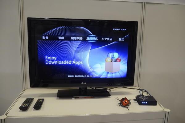Computex 2014:上盈通訊的Android電視盒