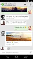 Google 終於將簡訊與 Hangouts 結合...不過目前僅限 Android