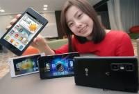 LG發布全球最輕薄3D手機SU870