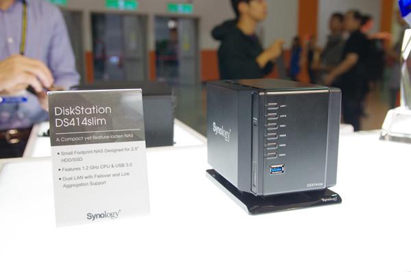 Computex 2014 : Synology 下半年 NAS 機種將更著重數位家庭應用,主打具 802.11ac 與路由器兼用能力