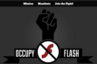 佔領正夯!有電腦的一起來佔領 Flash(Occupy Flash)吧!