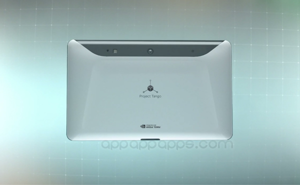 Google 公佈次世代平板: 超炫 Tango tablet 帶來「真正 3D」[影片]