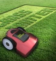 草皮也能當畫布~智慧型割草機Grass Printer