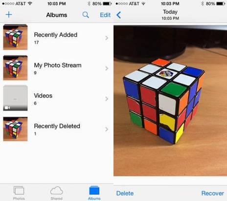不小心刪除珍貴相片? iOS 8 有辦法