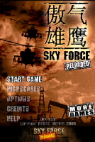 Sky Force Reloaded - Android上少見的熱血硬派射擊遊戲