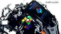 專業的又來了!樂高積木Cubestormer3挑戰解魔術方塊