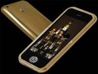 黃金和美鑽合體的 iPhone 3G,讓你體驗隨身帶著信義區豪宅的快感!