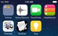 iOS 8 會是怎樣 主頁畫面截圖首次曝光