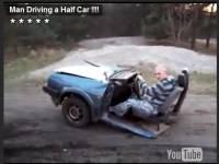 開一台車不稀奇,開半台車才叫有型