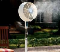 [消暑] 有了會噴水霧的電風扇,老師不用潑水降溫啦