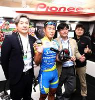 Pioneer 在台發表專業自行車隊訓練用踏板效率監控系統 Pioneer Cyclesports