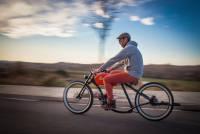 偽裝成野狼的復古電動腳踏車