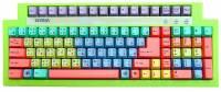 ★★斑馬鍵盤分解圖 七色彩虹鍵盤 ★★