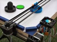神人用 3D 印表機零件打造單人用 Air-Hockey 桌台