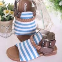 魔法Baby ~KUKI 酷奇休閒時尚條紋自然風簡約系童鞋~女童鞋~時尚設計童鞋~s4945