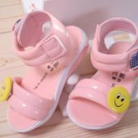 魔法Baby ~KUKI 酷奇笑臉 美國旗俏皮系童鞋~女童鞋~時尚設計童鞋~s5935