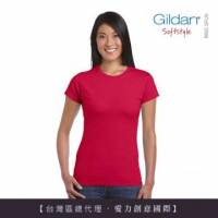 美國第一品牌GILDAN 彈性修身女用腰身剪裁T-Shirt 【超值三件組】