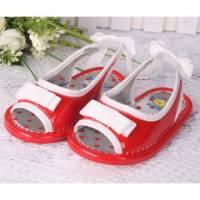 【換季↘69折】★ 魔法Baby ★【KUKI 酷奇清新甜美小童涼鞋☆女童鞋☆s2439紅~時尚設計