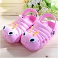 魔法Baby ~知名品牌 KUKI 酷奇毛毛蟲輕便鞋 粉紅 ~男女童鞋~時尚設計童鞋~s5980