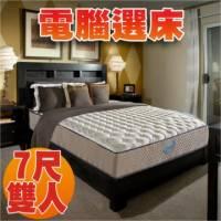 睡眠達人SL5202 國家專利 護背型獨立筒床墊 記憶綿 保護再升級 特大雙人 MIT 送USB保暖