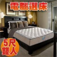 睡眠達人SL5203 國家專利 護背型獨立筒床墊 比利時乳膠 Q彈 標準雙人 MIT 送USB保暖毯