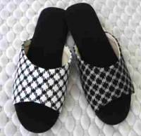 e鞋院 北歐格緻麂皮底室內拖鞋