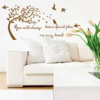 【Smart Design】創意無痕壁貼◆風樹