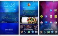 Galaxy電話TouchWiz界面終於大改: 新設計首次流出