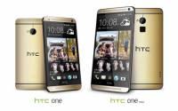 金光閃閃瑞氣千條的 HTC One 與 One Max 琥珀金開賣