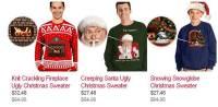 高科技毛衣給你最應景的聖誕節,可以在你的胸前看到暖暖的爐火