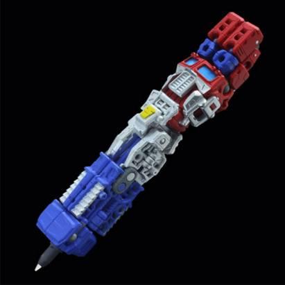 變型金剛造型原子筆,上課分心的另一個藉口