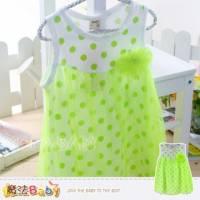 洋裝~亮彩點點氣質連身裙~女童洋裝~魔法Baby~k33717