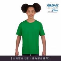 GILDAN 總代理-100 美國棉~亞規圓筒短袖素面-童Thirt 5件