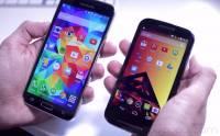 Galaxy S5 實機比拼 速度竟比入門超便宜 Moto E 稍慢 [影片]
