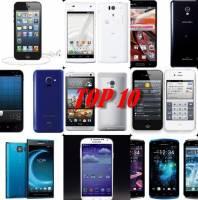 2013日本上半年《最受網友滿意手機排名TOP 10》 究竟結果是....