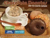 超誘人~讓少女們瘋狂的巧克力甜甜圈相機!