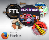 Mozilla 宣佈與遊戲發售平台「Humble Bundle」合作