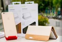 想保護 iPhone 6?來個 Moshi Overture 超有質感的側開皮套吧!還有透明背蓋可以選喔!
