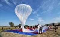 看!天上的谷歌氣球