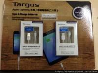 好市多專賣的便宜好物 Targus 2入裝 Lightning 原廠MFI認證傳輸線