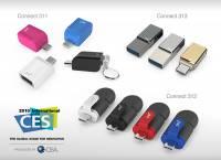 CES 2015 : PQI 發表 USB Type-C 儲存周邊,包括讀卡機 隨身碟 轉接器產品