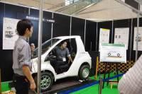 CEATEC Japan 2015 : 豐橋技術科學大學與大成建設展出藉由無線供電技術加快電動車在高