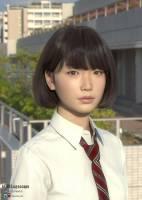 到底是現在電腦製圖太強大,還是真人照片修太假?日本美少女 Saya 是誰?