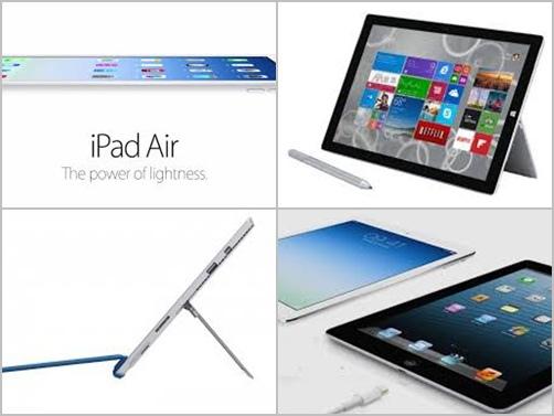 【做功課時間】iPad Air 128G & Surface Pro 3