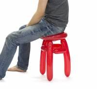 可以坐的造型氣球椅