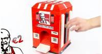 深夜肚子餓了怎麼辦?去LEGO販賣機買塊肯德基炸雞吧!